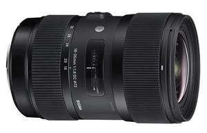 SIGMA 18-35mm F1.8 DC HSM Camera Lens